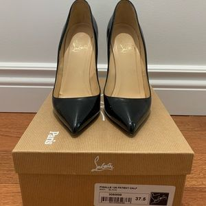 Pigalle 120mm - patent Christian Louboutin 37.5